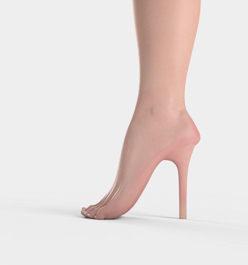 Je trouve que les talons hauts font de jolies jambes