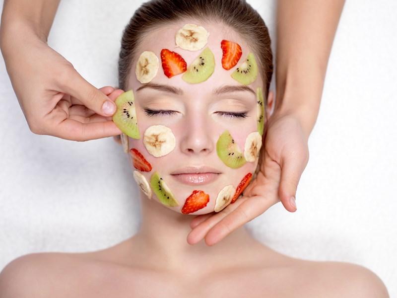 Les fruits sont bons pour la peau
