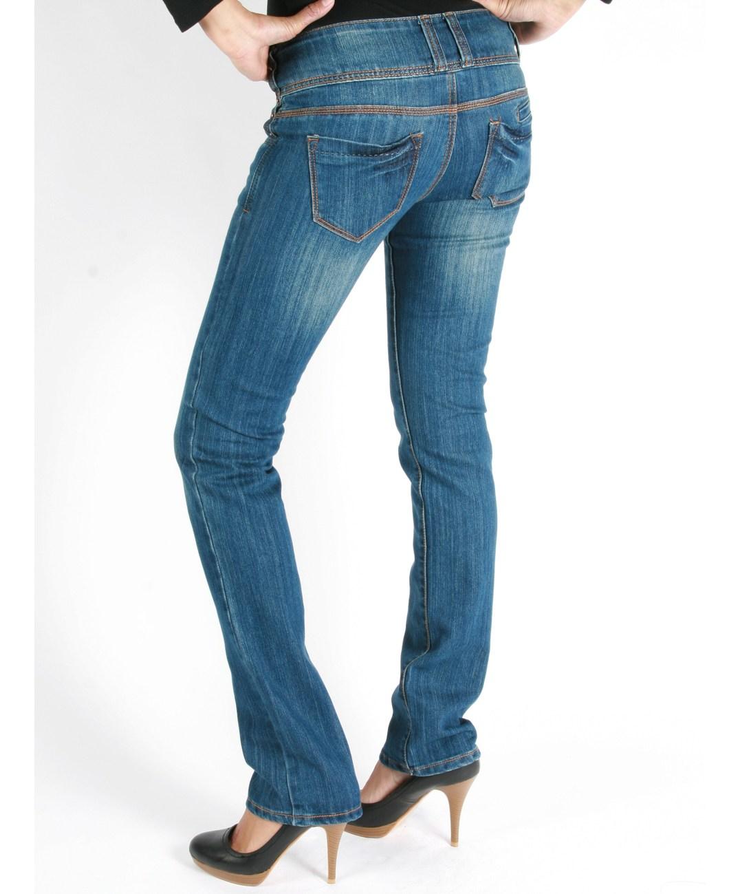 La veste en jean sur jean-femme.co