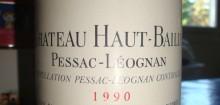 Un vin légendaire, le pessac leognan