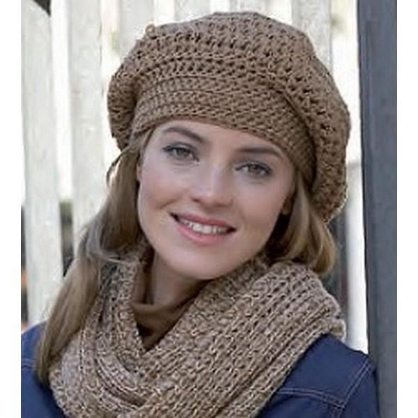 bonnet en laine femme