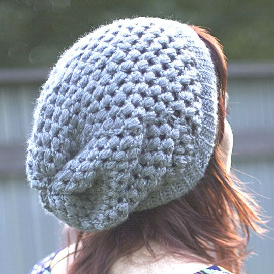 crochet bonnet