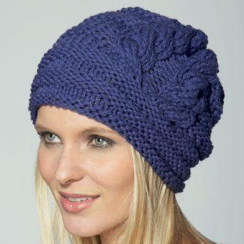 Modèle de bonnet à tricoter gratuit