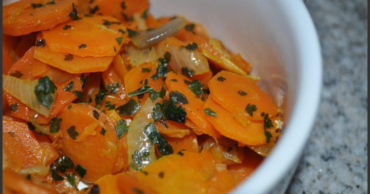 Comment cuire les carottes ?